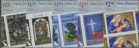 NZ SG3240-4 Christmas 2010, 50th Anniv of New Zealand Christmas Stamps set of 5